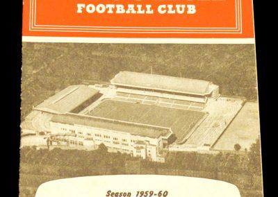 Arsenal v Burnley 12.12.1959