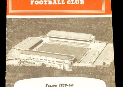Arsenal v Luton Town 26.12.1959