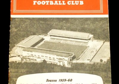Arsenal v Rotherham United 13.01.1960   FA Cup 3rd Round replay