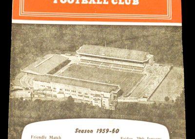 Arsenal v West Ham United 29.01.1960