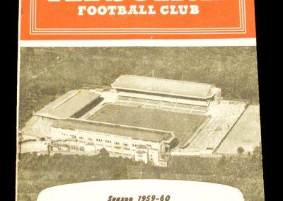 Arsenal v Leeds United 26.03.1960