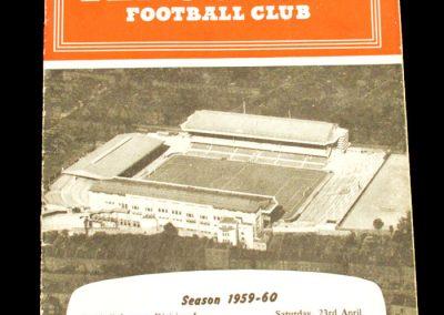 Manchester United v Arsenal 23.04.1960