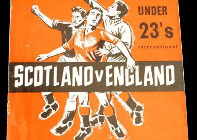 Scotland v England 02.03.1960