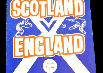 Scotland v England 09.04.1960 | British Championships