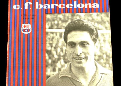 Barcelona v Birmingham City 04.05.1960 | Fairs Cup