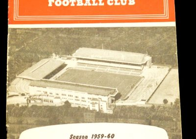 Arsenal v Blackpool 26.09.1959