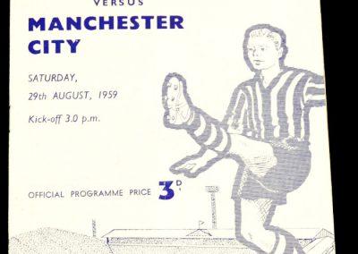 Sheffield Wednesday v Manchester City 29.08.1959