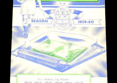 Blackburn Rovers v Manchester City 13.02.1960