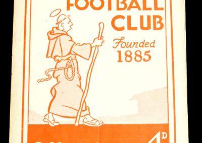 Southampton v Notts County 01.10.1958