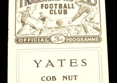 Tranmere v Doncaster Rovers 06.12.1958 | FA Cup 2nd Round