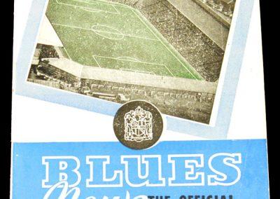 Birmingham v Wolves 14.03.1959
