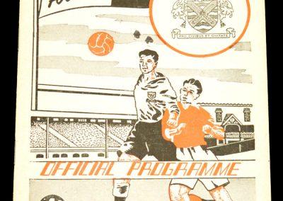 Fulham FC v Middlesbrough 14.03.1959