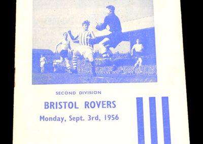 Huddersfield Town v Bristol Rovers 03.09.1956
