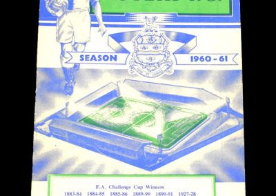 Blackburn Rovers v Bolton Wanderers 24.09.1960