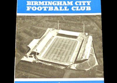 Birmingham City v Bolton Wanderers 17.12.1960