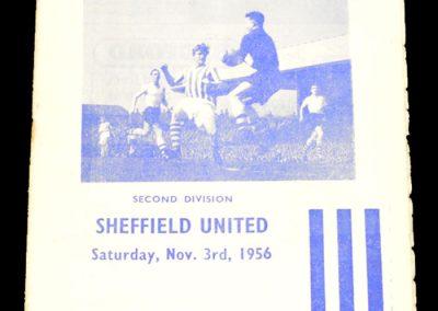 Huddersfield Town v Sheffield United 03.11.1956