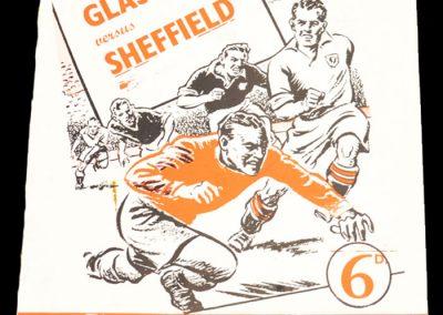 Glasgow v Sheffield 14.11.1956