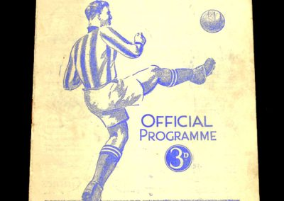 Huddersfield Town v Middlesborough 26.09.1953