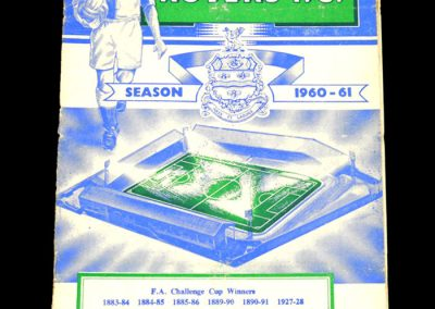 Blackburn Rovers v Bolton Wanderers 01.02.1961