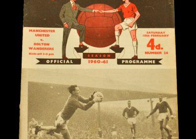 Manchester United v Bolton Wanderers 18.02.1961