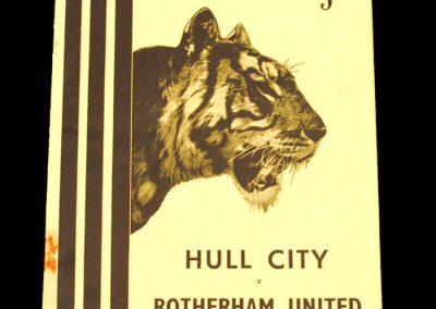 Hull City v Rotherham United 31.10.1953
