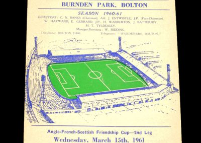 Bolton Wanderers v Le Havre 15.03.1961