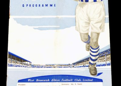West Bromwich Albion v Newcastle 25/26.12.1956 | Reserves v Wolverhampton Wanderers