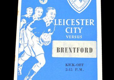 Leicester City v Brentford 05.12.1953