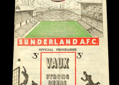 Sunderland FC v Newcastle United 19.12.1953