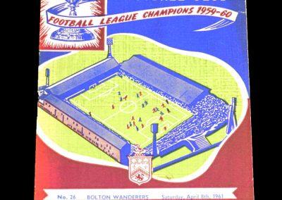 Burnley FC v Bolton Wanderers 08.04.1961