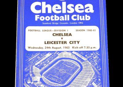Chelsea v Leicester City 24.08.1960