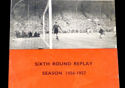 Nottingham Forest v Birmingham city 07.03.1957 | FA Cup 6th Round Replay
