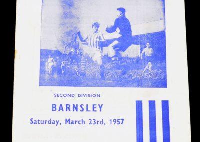 Huddersfield Town v Barnsley 23.03.1957