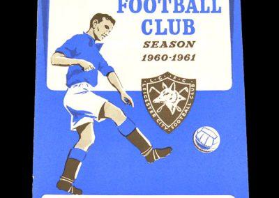 Chelsea v Leicester City 31.08.1960