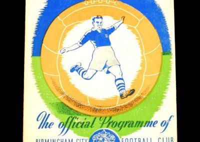 Birmingham City v Bristol Rovers 06.03.1954