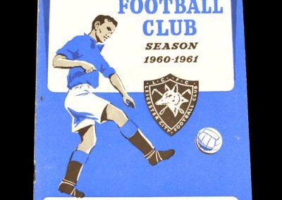 Blackburn Rovers v Leicester City 03.09.1960