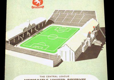 Aston Villa v Newcastle United Reserves / Sunderland 06/08.04.1957