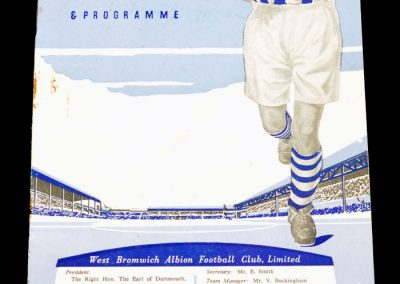 West Bromwich Albion v Birmingham City 22.04.1957 | Reserves v Stoke