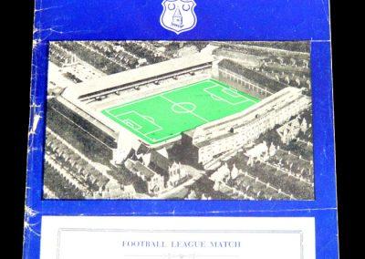 Everton v Cardiff 13.05.1957