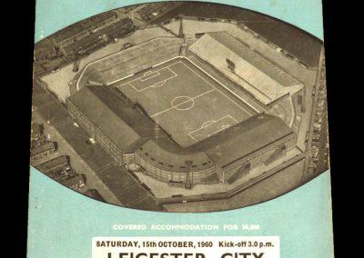 Manchester City v Leicester City 15.10.1960