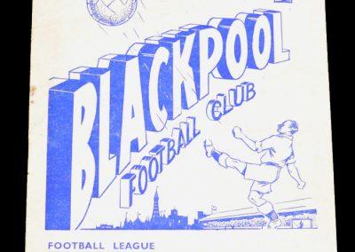 Blackpool v Wolverhampton Wanderers 25.08.1956