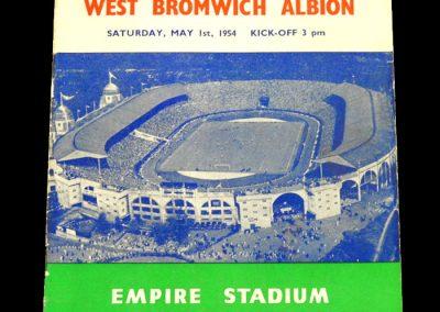 Preston North End v West Bromwich Albion 01.05.1954   FA Cup Final