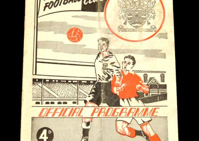 Fulham FC v Leicester City 12.11.1960
