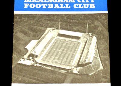 Birmingham City v Leicester City 26.11.1960