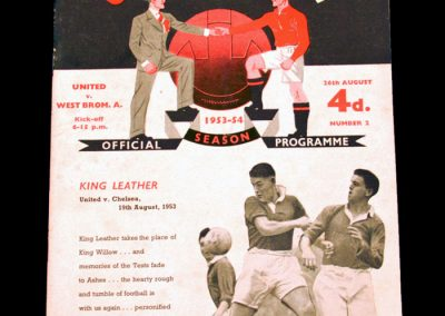 West Bromwich Albion v Manchester United 26.08.1953