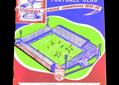 Burnley FC v Leicester City 10.12.1960