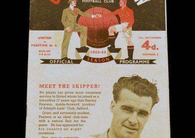 Preston North End v Manchester United 19.09.1953