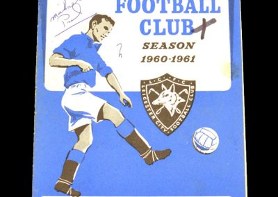 Manchester United v Leicester City 21.01.1961