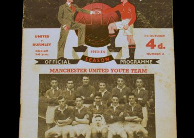 Burnley v Manchester United 03.10.1953