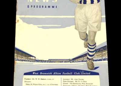 West Bromwich Albion v Leicester City 11.03.1961